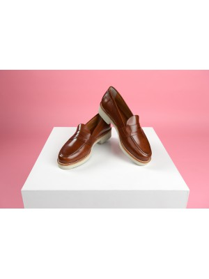 TRUMAN'S Loafer in Cognac