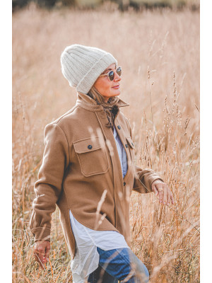 Closed Overshirt in Camel