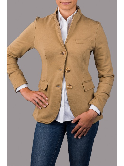 JUTTA GROSS Lieblings-Blazer in Cognac